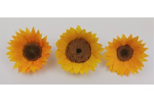 Preserved sunflower XL (8 cm) - yellow