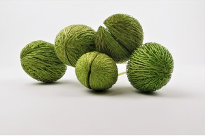 Dried mintolla ball light green