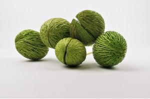 Trockene mintolla ball - hellgrün